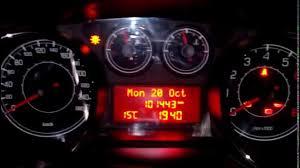 Fiat Bravo 198 Check Service Interval Youtube