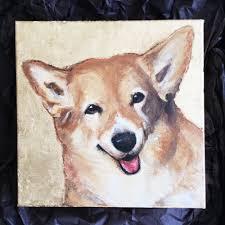 The Queen S Corgis by Blog U2014 Claire Thorogood Art Dog Portraits