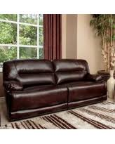 Leather Power Reclining Sofa Save Your Pennies Deals On Trevino Chocolate Leather Power