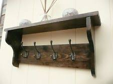 coat rack shelf ebay