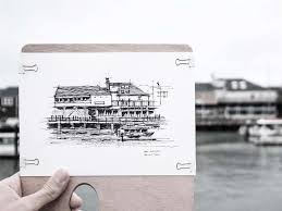 architect u0027s love of san francisco buildings shows in his sketches