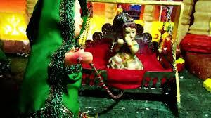 ganpati bappa morya home decoration video dailymotion