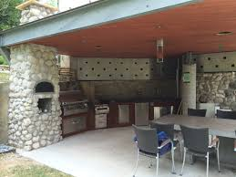 modern outdoor kitchen designs unique black leaf ceiling fan and