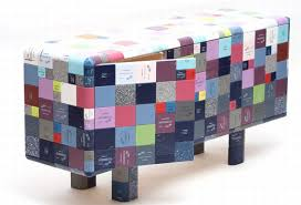 Cduk Corian Jay Watson Makes Pixelated Furniture From Recycled Corian Samples