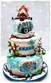 1509 best disney u0027s frozen cakes images on pinterest frozen