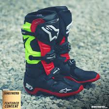 tech 10 motocross boots alpinestars u2013 tech 10 review derestricted