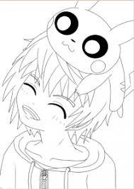 Mangas  Animés  Coloriages difficiles pour adultes