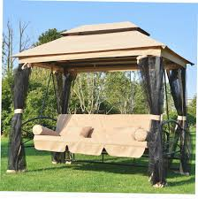 patio swing with gazebo home design ideas and pictures