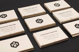 concrete business cards business cards design inspiration 005 you and saturation