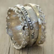 s rings hebrew inscribed ring i am my beloved s and my beloved is