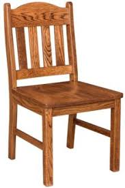 Dining Chair Wood Amish Kitchen Dining Chairs Solid Wood Amish Furniture
