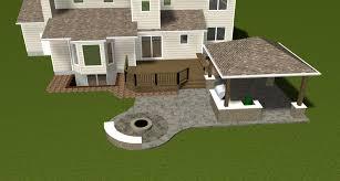 Backyard Patio Ideas With Fire Pit by Home Decor Captivating Concrete Patio Ideas Pictures Design Ideas