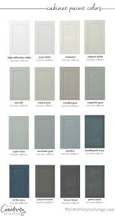 colored cabinets for kitchen 30 beautiful cabinet paint colors for kitchens and baths