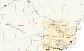 Metro Detroit Map by M 59 Michigan Highway Wikipedia