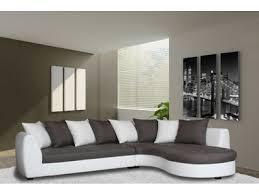 canape haricot canapé d angle à droite haricot blanc gris taupe