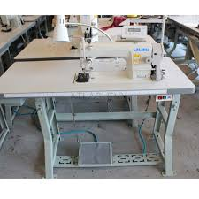Commercial Fabric Cutting Table Automatic Single Needle Juki Sewing Machine With Servo Motor