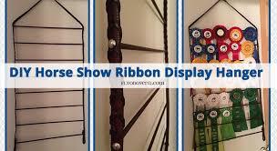ribbon display diy show ribbon display hanger fly on