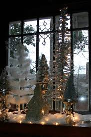 Christmas Window Decorations Vintage by 62 Best Christmas Buffets Images On Pinterest Vintage Christmas