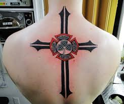 100 celtic cross tribal tattoos celtic cross with tribal
