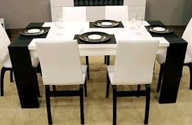 Esszimmer Modern Weiss Esszimmer Weißen Stühlen Möbelideen
