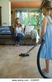 Vaccumming Hoovering Vacuuming Vacuum Cleaner Housework Woman Vacuum Cleaner