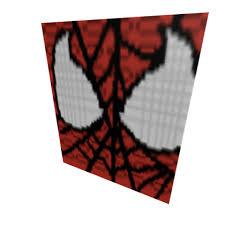spiderman face roblox