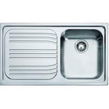 lavello cucina franke lavello cucina radar acciaio inox 1 vasca gocciolatoio cm 86