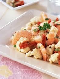 cuisine crevette 02383496 photo salade de chou fleur aux crevettes jpg