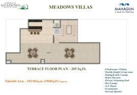 floor plan mahagun meadows