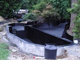 backyard pond ideas with waterfall astounding small backyard ponds