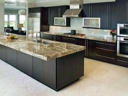 Black Cabinets In Kitchen Backsplash Ideas For Granite Countertops Hgtv Pictures Hgtv