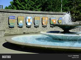 bc canada july 28th 2014 a pretty setting in victoria bc with the