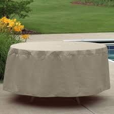 Patio Table Cover 48 54 Outdoor Patio Table Cover Pc1154 Cozydays