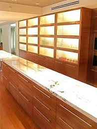 simple design i shape wood veneer kitchen cabinet vc cucine china