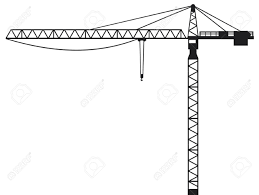 15039836 crane building crane tower crane stock vector