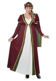 renaissance halloween costumes plus size medieval maiden costume