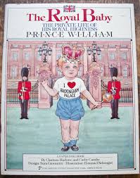 the royal baby 1983 first edition prince william of wales paper