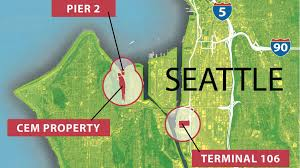 West Seattle Map by Port Of Seattle Explores Possible Solar Farm In South Harbor As