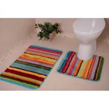 Non Slip Bath And Pedestal Mats Bene Domo Acrylic Non Slip Bath And Toilet Pedestal Mats Set