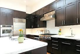 colors for a kitchen with dark cabinets small kitchen dark cabinets katecaudillo me