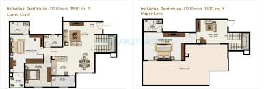 3 bhk 1700 sq ft penthouse for sale in mantri alpyne at rs