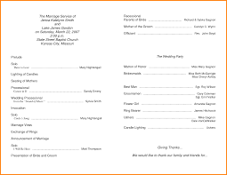 wedding church programs 3 church program templates resume reference