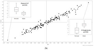 veterinary sciences free full text metabolite profiles of male