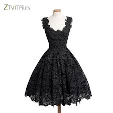 Red And Black Party Dresses Gorgeous Ball Gown Design Lace Dresses In Black Pink White Blue