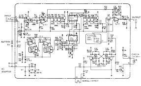 boss ce 2b bass chorus pedal schematic diagram