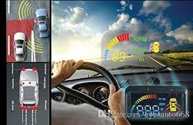 Car Blind Spot Detection 2017 Hud Smart Blind Spot Detection System Sensor Safety Monitor