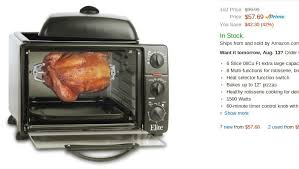 elite cuisine toaster the best toaster ovens 150 top 5 on amazon prime food