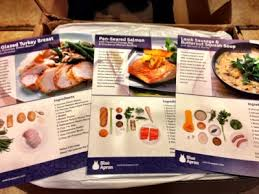 a subscription box thanksgiving blue apron review dinner kit