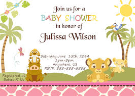 lion king baby shower invitations unique lion king baby shower invitations for additional free baby