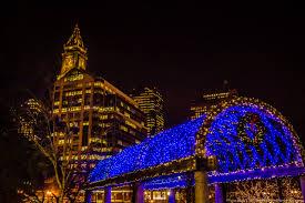 photo gallery trellis lighting at christopher columbus park